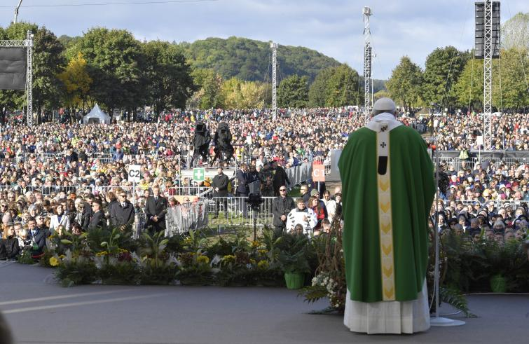 Papa Francesco in viaggio nelle Repubbliche Baltiche