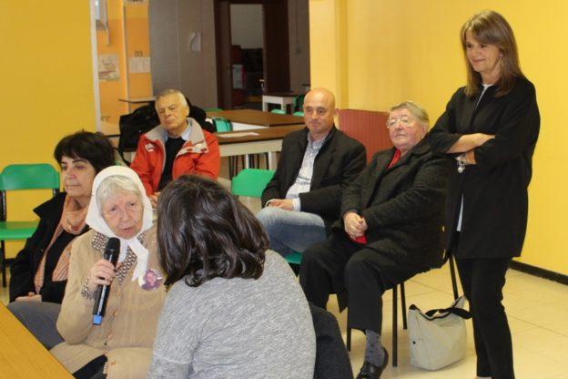 Vera Vigevani Jarach, Madre de Plaza de Mayo, è tornata in Val Sangone