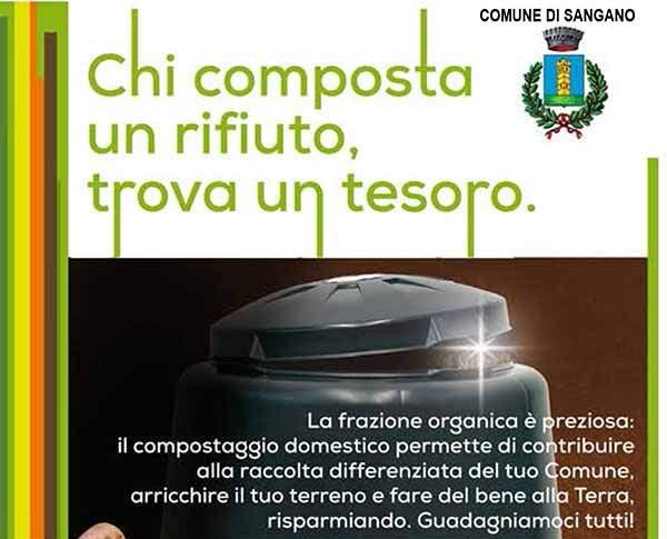Sangano, due incontri sul compostaggio domestico