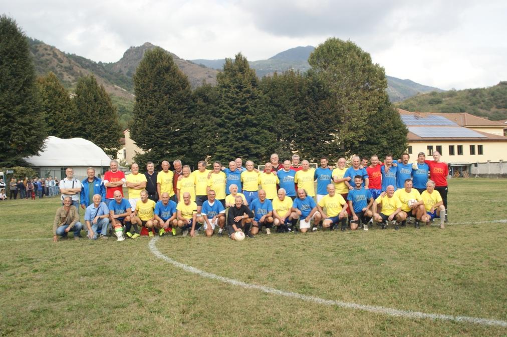 Condove, l'ultima partita si è disputata sabato 6 ottobre sul grande prato verde