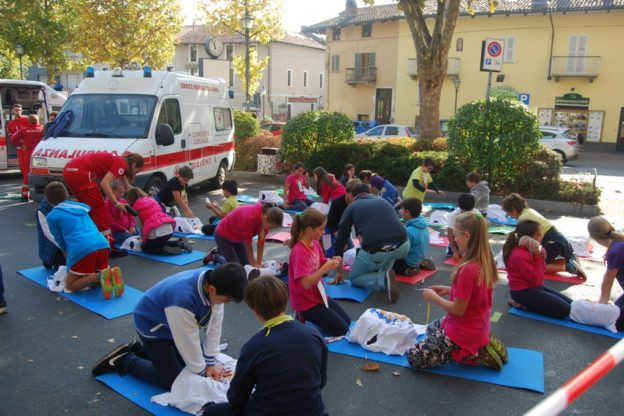 Le scuole in campo per la Settimana per la rianimazione cardiopolmonare