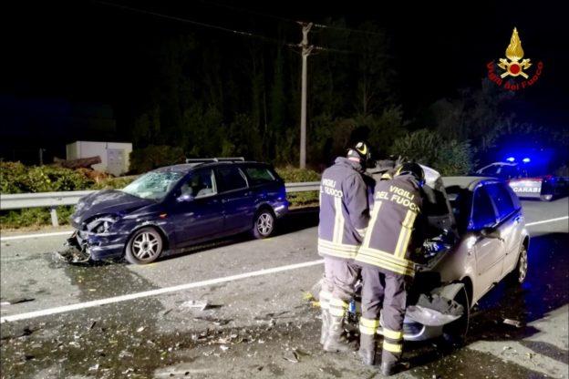 Incidente stradale in Valsusa: scontro sulla statale 25