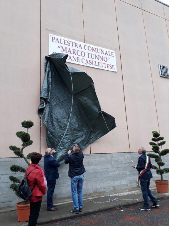 Caselette, la palestra comunale è ora intitolata a Marco Luciano Tunno