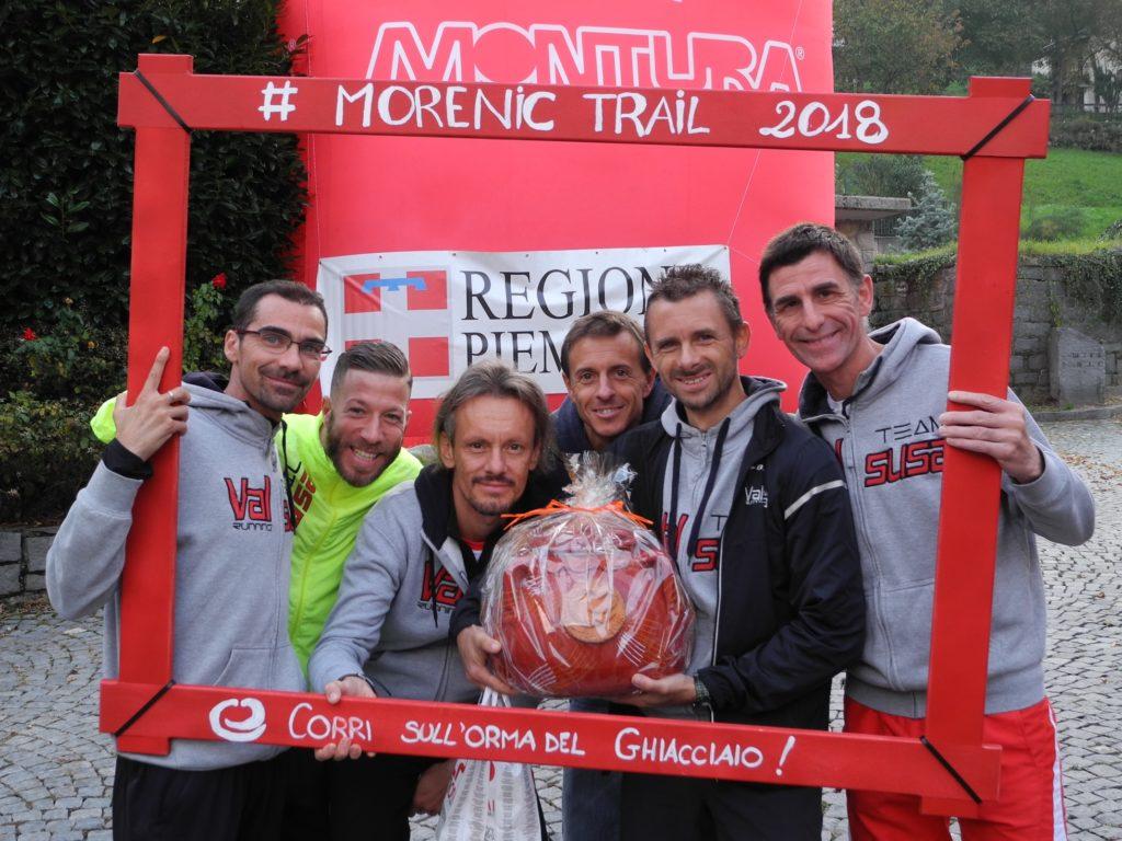 Gabriele Abate vince il Morenic Trail