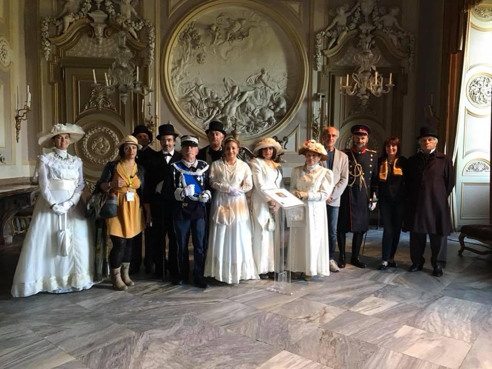 Il gruppo storico di Reano protagonista al Castello di Racconigi