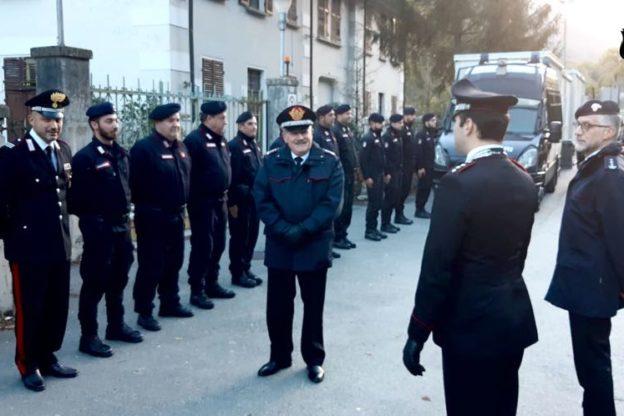 Il generale Sabino Cavaliere ha incontrato i Carabinieri della Compagnia di Susa