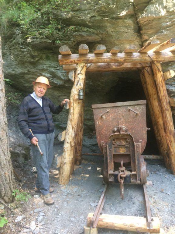 Una miniera nel Parco del Gran Bosco di Salbertrand