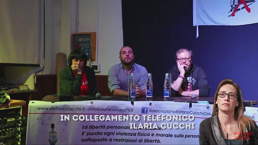 Una serata in Val di Susa dalla parte di Stefano Cucchi, con il film