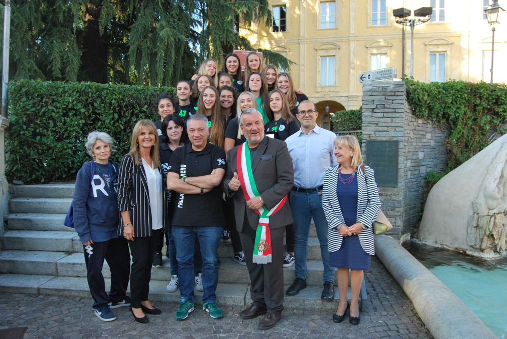 Il Comune ha premiato le ragazze dell'Under 16 Pallavolo Giaveno