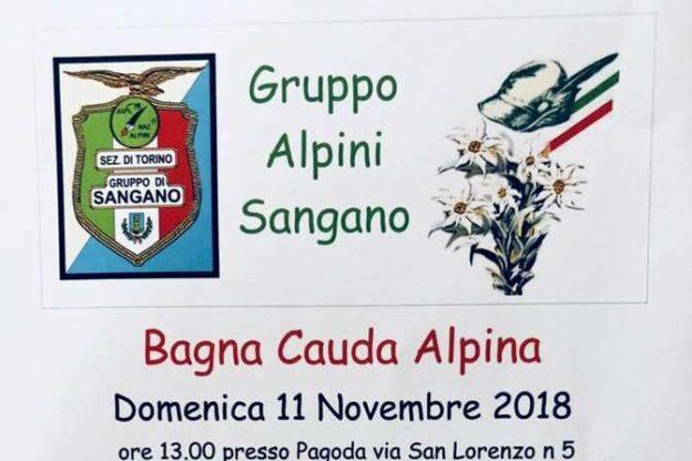 """Domenica 11 novembre, a Sangano, c'è la """"Bagna Cauda Alpina"""""""