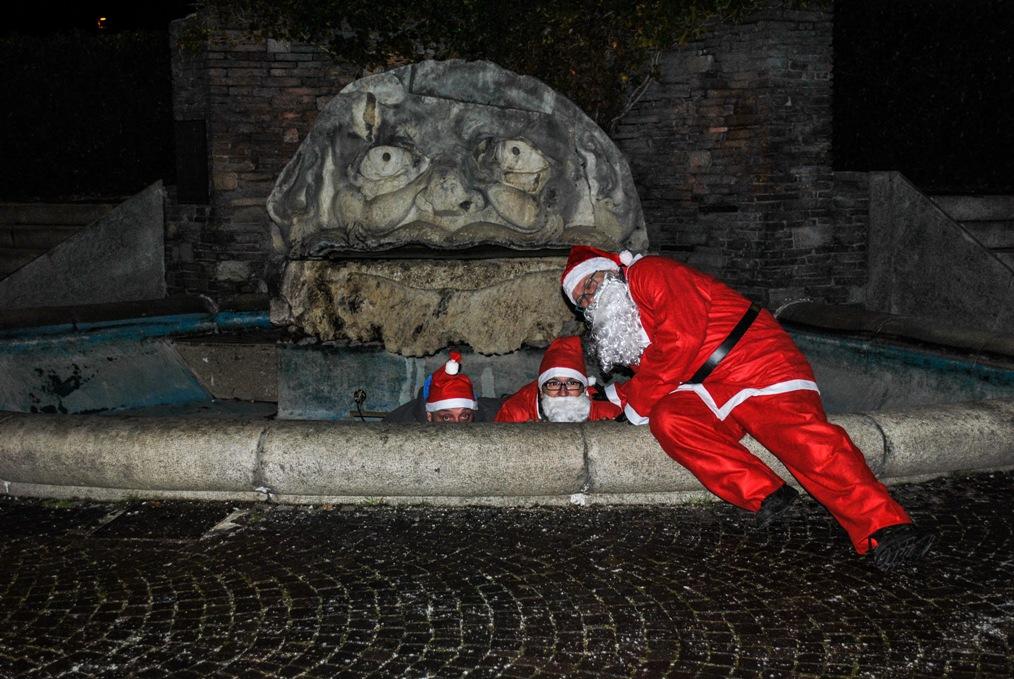 A Giaveno torna anche quest'anno l'insolita Banda di Babbo Natale