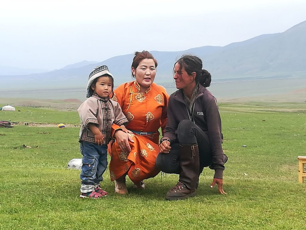 Paola Giacomini, una valsusina sulle orme di Gengis Khan / Foto