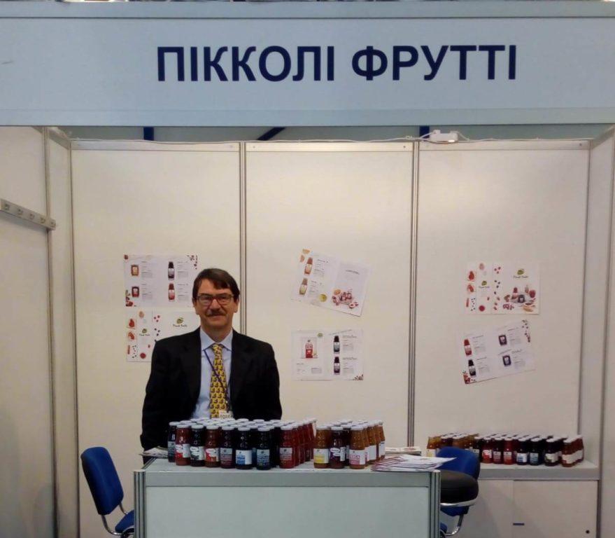 I Piccoli Frutti di Giaveno e della sua Valle approdano a Kiev ed è subito un successo
