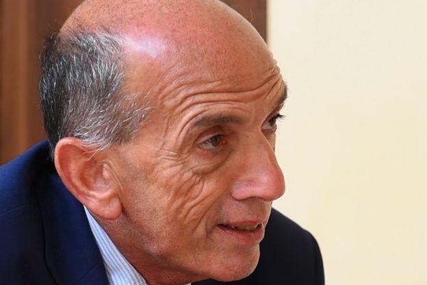 Il giornalista Domenico Quirico in Val di Susa, mercoledì 28 novembre