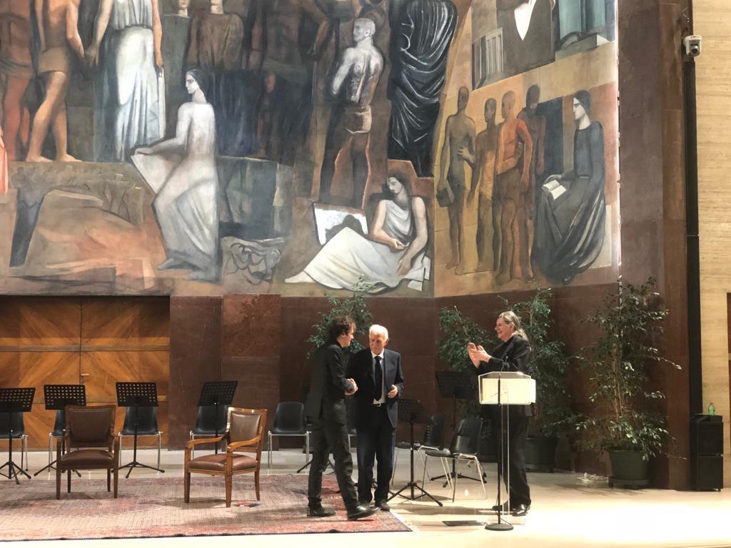 Lamberto Curtoni, un valsusino premiato al Roma Film Festival