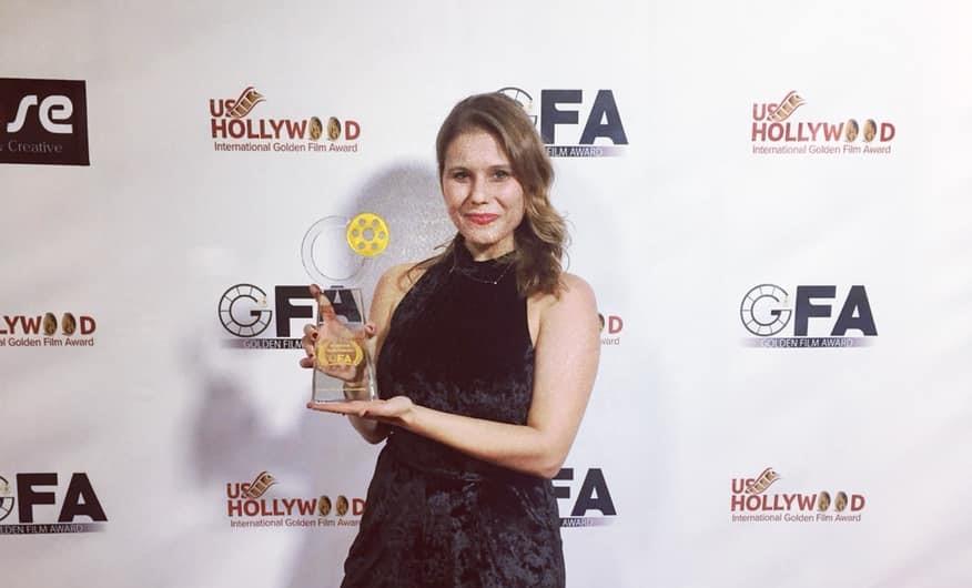 La miglior attrice ai Golden Film di Hollywood è la giavenese Alice Lussiana Parente