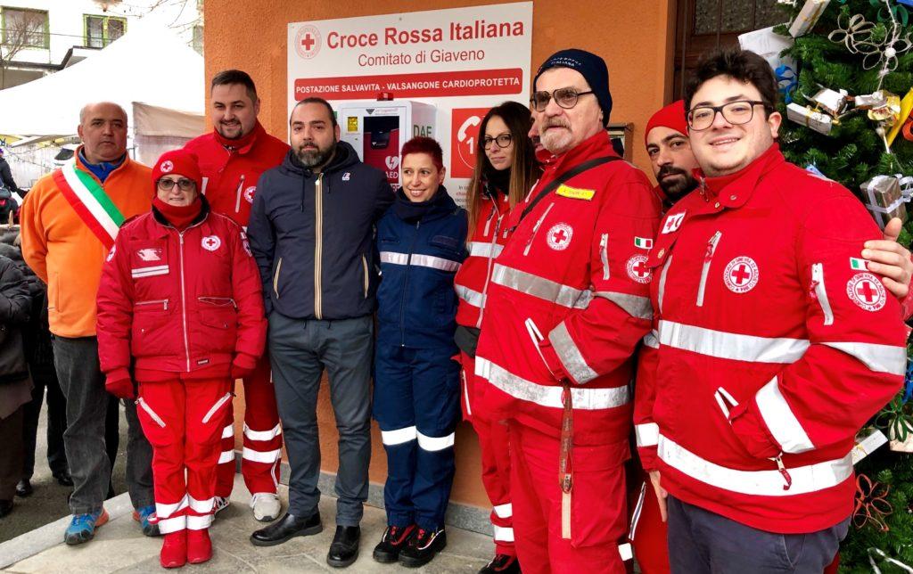 Anche Valgioie ha il suo defibrillatore. La Val Sangone è cardioprotetta