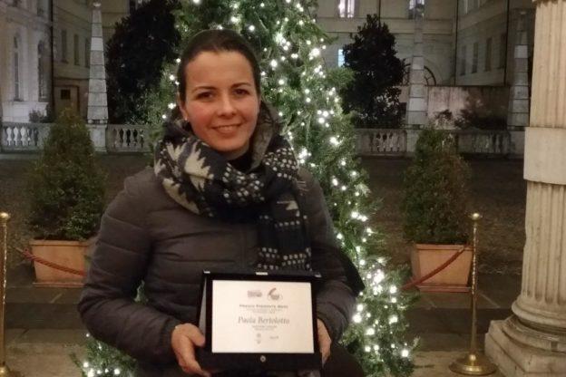 Premio PiemonteMese: la valsusina Bertolotto Paola riceve la menzione d'onore