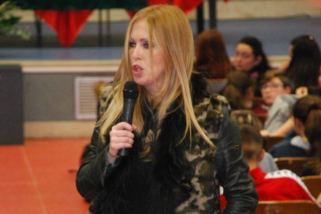 La criminologa Roberta Bruzzone ha parlato agli studenti del Ferrari di Susa