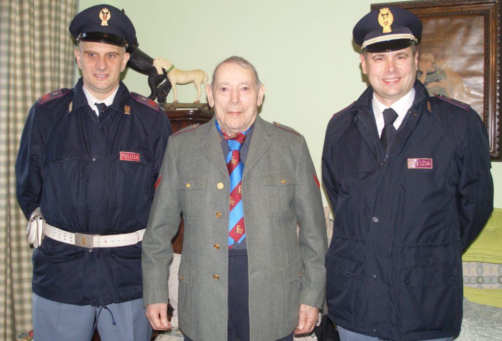"""I 90 anni di Peppino Campi che """"inaugurò"""" la Polstrada di Susa"""