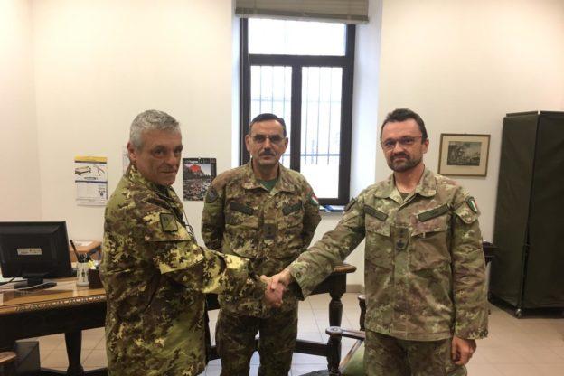 Il colonnello valsusino Luigi Giai al comando in Valle d'Aosta