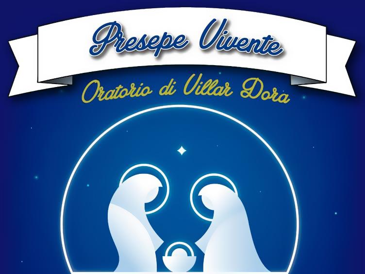 Veglia natalizia con il presepe vivente a Villar Dora