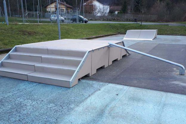Sant'Antonino: un nuovo impianto di skateboard nell'area sportiva
