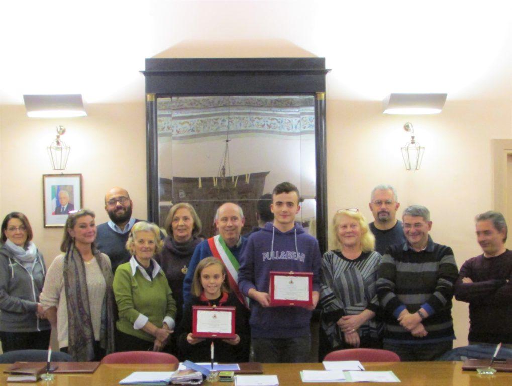 Borgone: premiati due giovani atleti valsusini