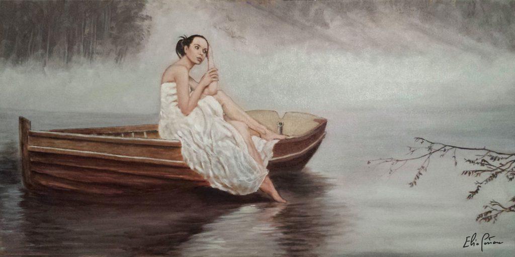 """La """"Lady of Shalott"""" di Elio Pastore sarà esposta a Villa Tabusso"""