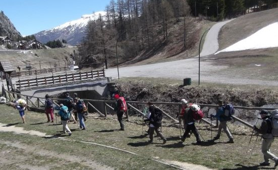 Via Francigena in Valle di Susa, un incontro ad Alpignano