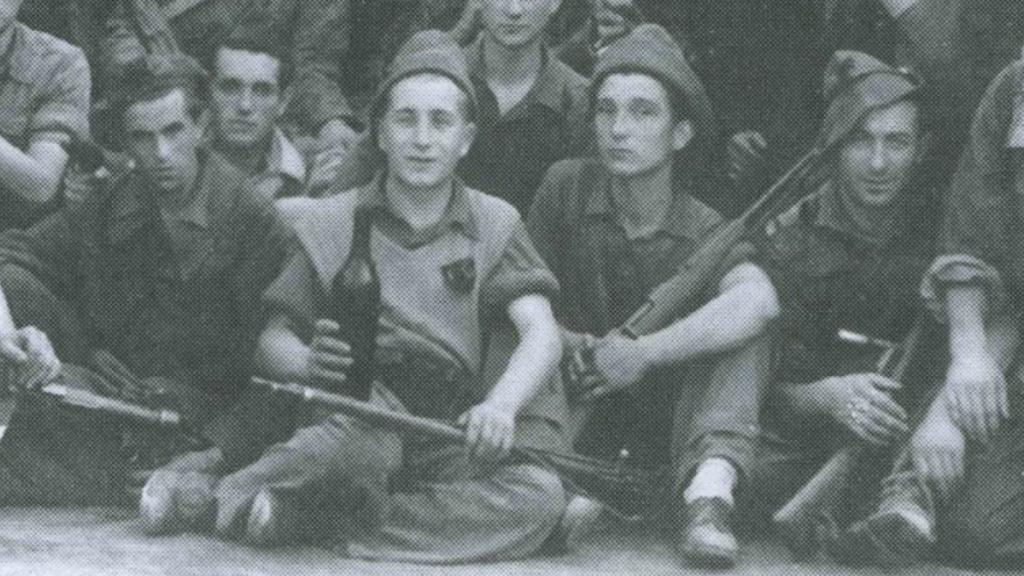 Evaristo Tonda Roc e Dionigi Giuliano il 25 aprile 1945