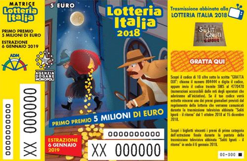 La Lotteria Italia 2018 porta 25mila euro in Val di Susa