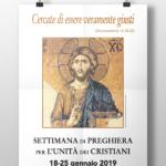 Anche la Diocesi di Susa celebra la Settimana per l'unità dei Cristiani
