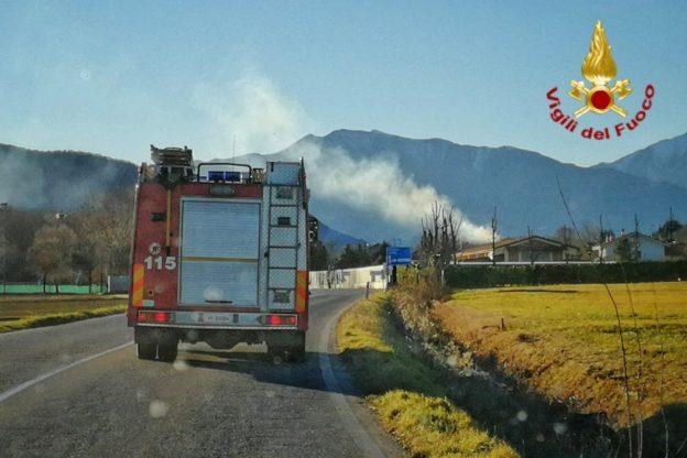 Spento l'incendio ai Picchi del Pagliaio, ma la Val Sangone brucia ancora