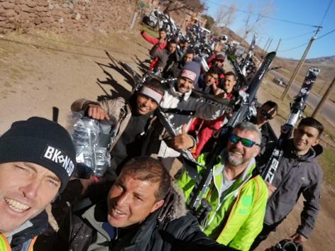 Maestri di Sci in trasferta dalla Valsusa al Marocco