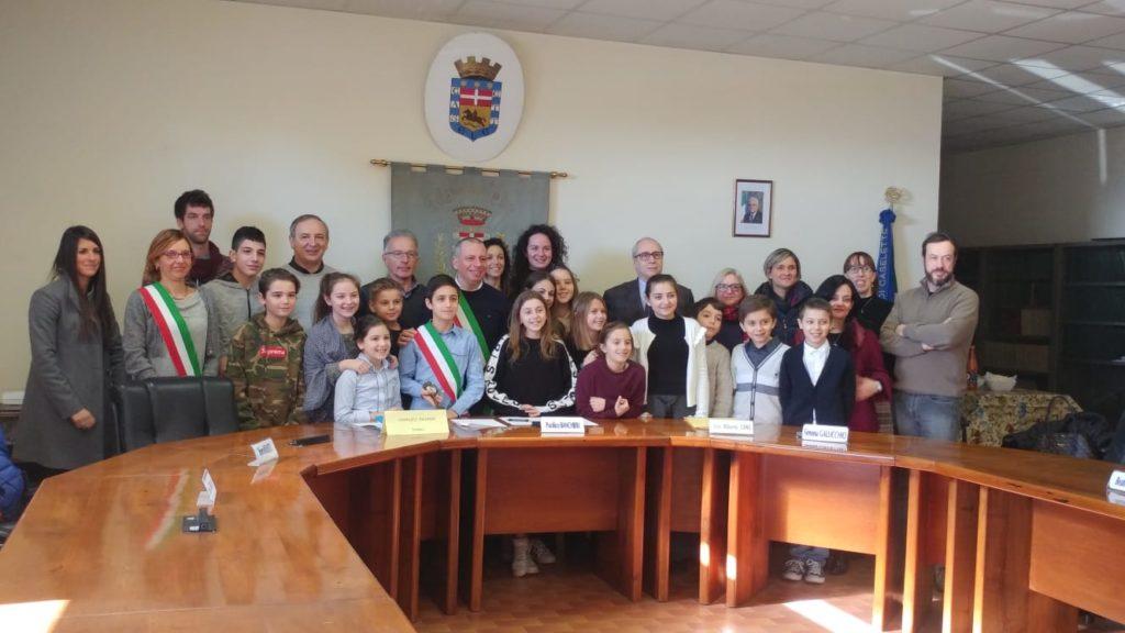 Caselette ha il nuovo consiglio comunale dei Ragazzi