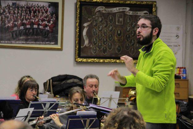 S.Antonino. Mattia Davriù, il nuovo maestro della Filarmonica Santa Cecilia