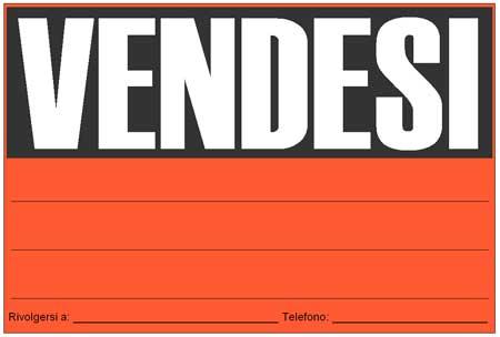 """Bardonecchia, per ripicca ruba 118 cartelli """"Vendesi"""" e """"Affittasi"""""""