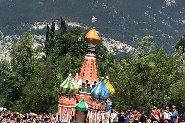 Oulx e la Carton Rapid Race al Festival di Sanremo