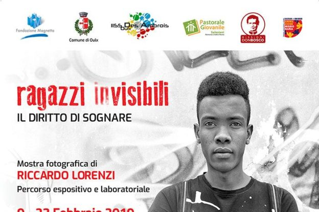 """""""Ragazzi (in)visibili, il diritto di sognare"""" in mostra a Oulx fino al 23 febbraio"""