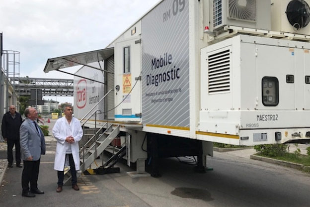 Susa, lavori all'ospedale cittadino: arriva la Tac mobile