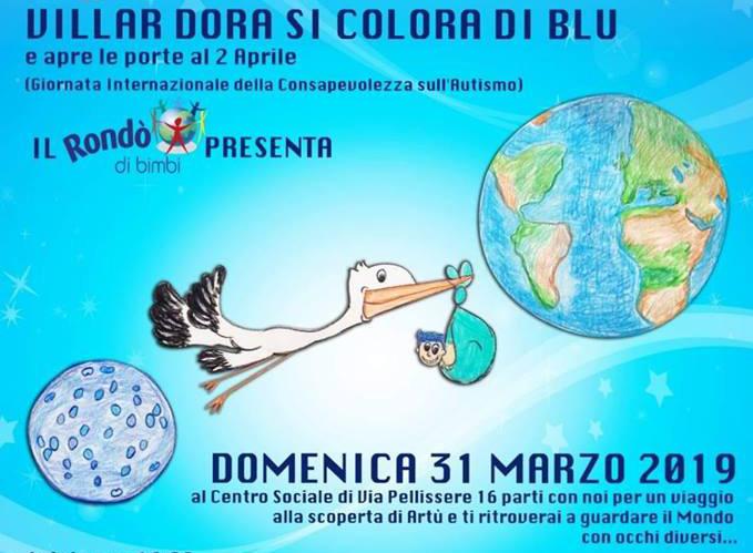 Villar Dora, un evento per sensibilizzare sull'autismo