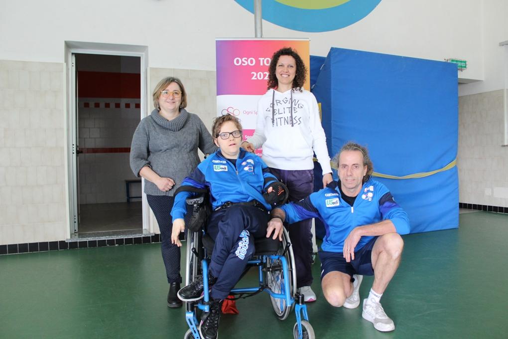 Carlotta Visconti, una campionessa di Boccia paralimpica al Maria Ausiliatrice di Giaveno