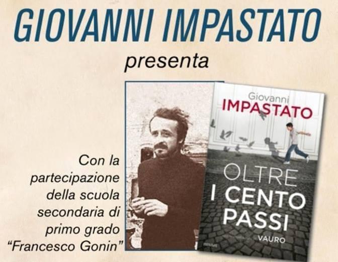 Giovanni Impastato, fratello di Peppino, a Giaveno giovedì 28 marzo