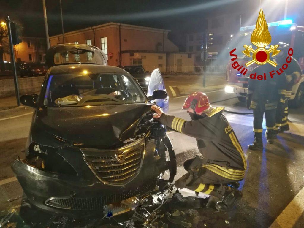 Val di Susa, incidente stradale a Sant'Antonino: un uomo ferito