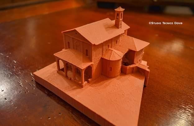 La chiesa di Borgata Villa: il primo edificio giavenese a essere stampato in 3D