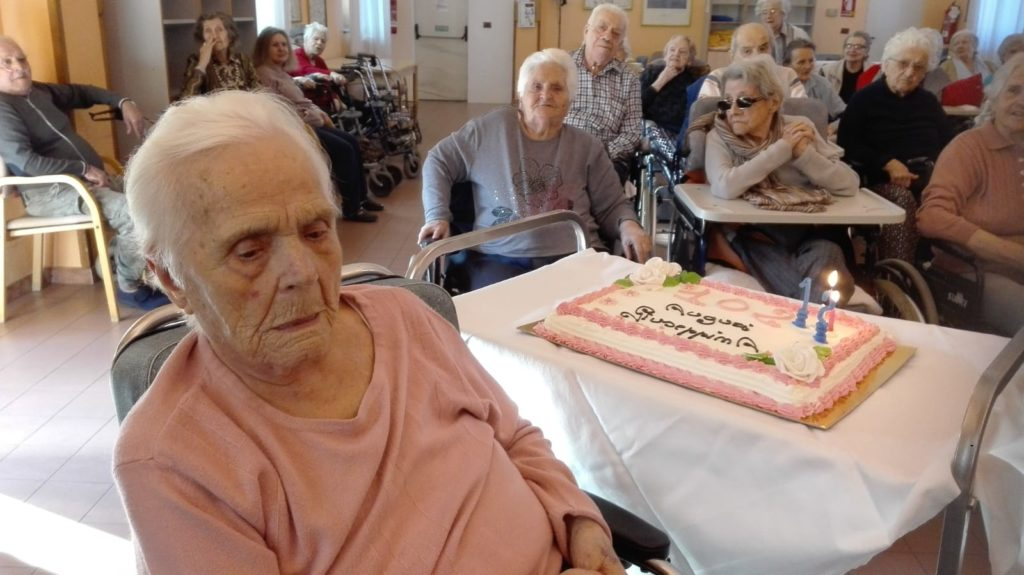Giaveno, festeggiati i 102 anni di Giuseppina Borgnino