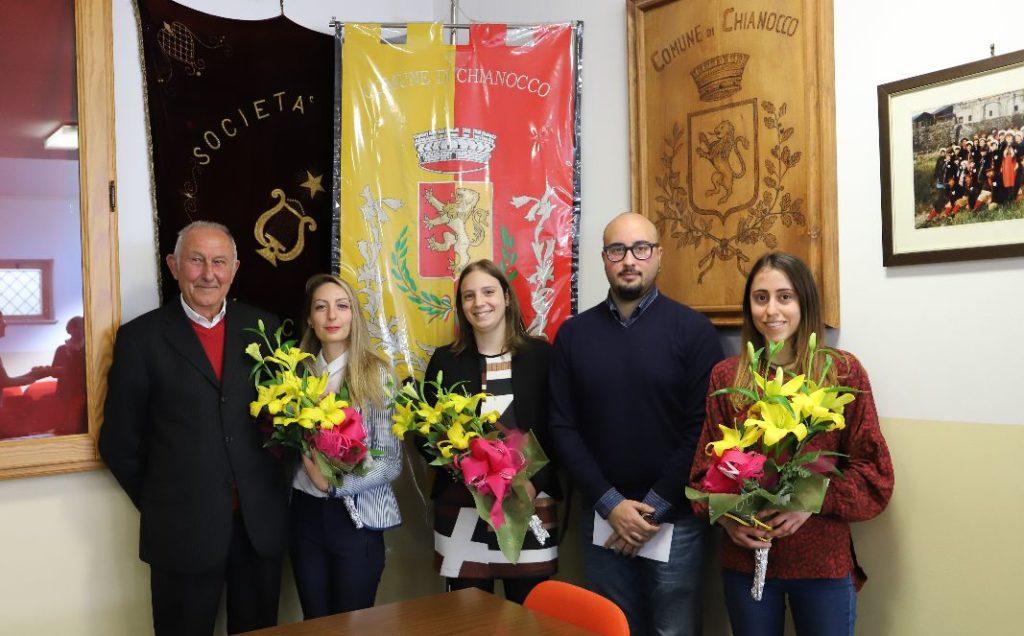 Chianocco, il Comune premia i laureati