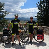Alpignano, Andrea Canta e Bruno Riva pronti per la Ciclomaretona