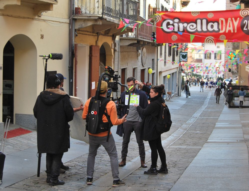 "Giaveno diventa set del ""Girella Day"""
